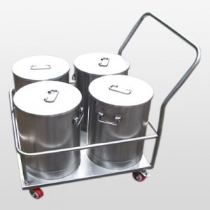container with trolley