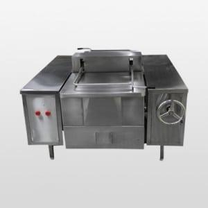 food tilting pan