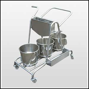 Stainless Steel Mopping Trolley Manufacturer Ahmedabad, India