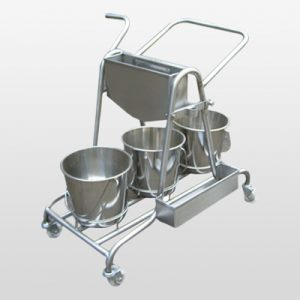 SS Mopping Trolley manufacturer, supplier and exporter India