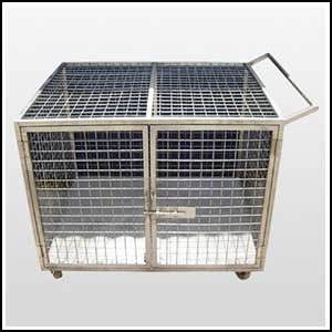 SS Cage Trolley supplier Gujarat